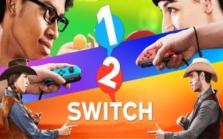1-2 Switch kent vele personages! Zo kun je bijvoorbeeld in de huid kruipen van een cowboy.