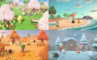 De seizoenen en de tijd in de game lopen gelijk met de tijd in de echte wereld