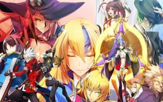BlazBlue Central Fiction - Special Edition: Afbeelding met speelbare characters