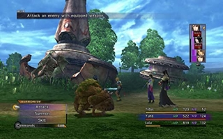 Net als in veel andere Final Fantasy-games zijn de gevechten in deel X en X-2 turn-based.