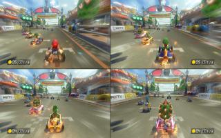 Race met tot wel 4 spelers op één Nintendo Switch-systeem!