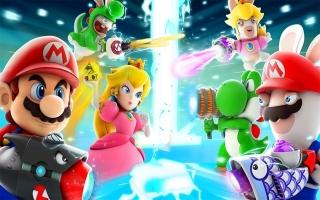 Speel met Mario en zijn vrienden en natuurlijk hun Rabbid alter ego´s!