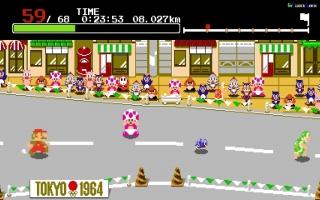 In het verhaal komen Mario en Sonic in een vreemde machine van dr. Eggman vast te zitten