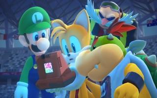 Ondertussen gaan Luigi en Tails Tokyo rond om hun vrienden te bevrijden.