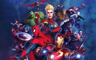 Kruip in de huid van je favoriete Marvel-superhelden.