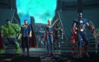 afbeeldingen voor Marvel Ultimate Alliance 3: The Black Order