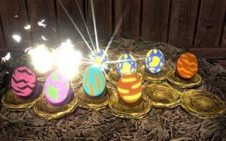 Verzamel verschillende eieren om nieuwe Monsties te bemachtigen.