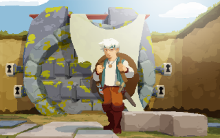 Moonlighter: Afbeelding met speelbare characters