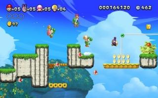 De klassieke 2D-sidescrolling platformgekte is weer terug! Speel met 4 spelers tegelijk!