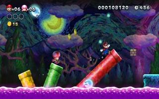 De game bevat 164 levels, verdeeld over New Super Mario Bros. U en New Super Luigi U!