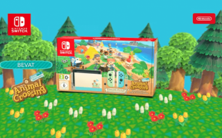 De Animal Crossing versie van de <a href = https://www.marioswitch.nl/Switch-spel-info.php?t=Nintendo_Switch target = _blank>Nintendo Switch</a>!
