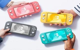 De Switch Lite bestaat in 4 verschillende kleuren.