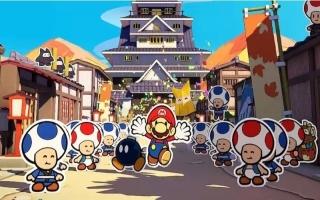 Ga met Mario, Olivia en andere bondgenoten de strijd aan met het origami-leger en Origami King Olly