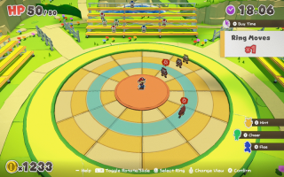 Gevechten vinden plaats op een cirkel. Los de puzzel op om meer vijanden tegelijk te kunnen raken!