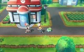 Voor het eerst in pokemon geschiedenis kun je met z'n tweeën de Kanto regio verkennen!