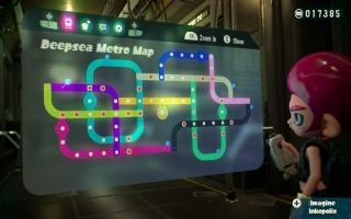 En verken de verlaten metro's als een Octoling in de 'Octo expansion' DLC!