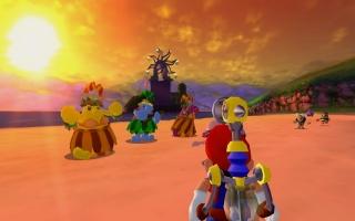 In 2002 volgde Super Mario Sunshine. De game schittert dankzij verbeterde resoluties en widescreen!
