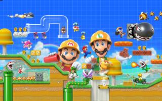 Creëer je eigen levels en deel ze online! Speel levels van anderen met Mario, Luigi, Toad en Toadette!