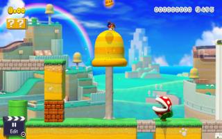Er is zelfs een geheel nieuwe en bijzondere levelstijl, namelijk Super Mario 3D World!
