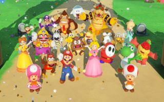 Bouw een feestje met in totaal 20 personages uit de Mario-serie! Er zijn deze keer 3 nieuwe feestbeesten!
