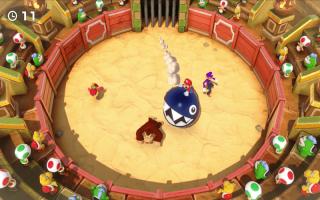 <a href = https://www.marioswitch.nl/Switch-spel-info.php?t=Super_Mario_Party target = _blank>Super Mario Party</a> bevat natuurlijk weer een fantastische verzameling van 84 grappige minigames.