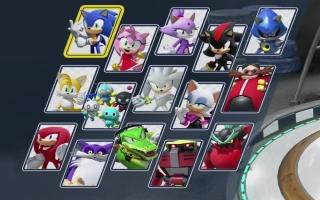 Stel teams van drie samen met deze vijftien Sonic personages.