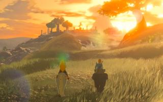 Ontdek in Link's herinneringen wat er is gebeurd met het land Hyrule.