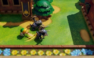 Link's Awakening lijkt een beetje op een diorama!