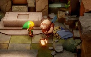 Ontwerp je eigen dungeons bij Dampé, de grafbewaarder uit Ocarina of Time.
