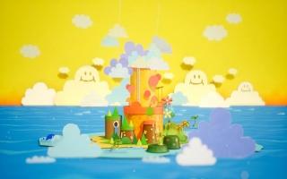 Yoshi's eiland is ook weer terug, met een nieuwe look natuurlijk.