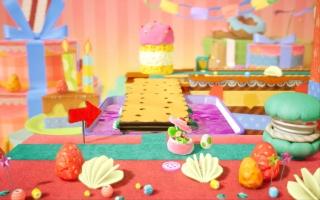 Speel ook de levels achterstevoren met de camera vanuit de achtergrond voor extra variatie!